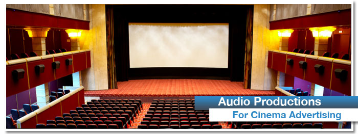 Audio for Cinema Advertising